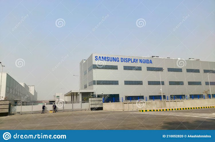 Samsung shifts display manufacturing unit from China to Noida