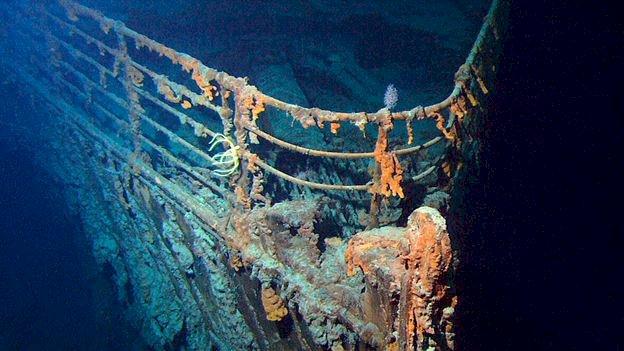 Titanic will soon disappear in the deep sea!