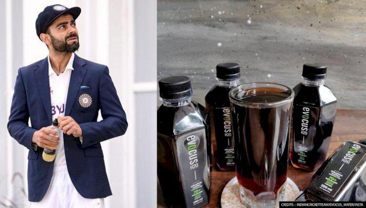 Fitness freak Virat Kohli drinks 'Black Water'; it's price is Rs 4000/litre